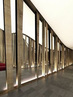 Crazy mirrored wall