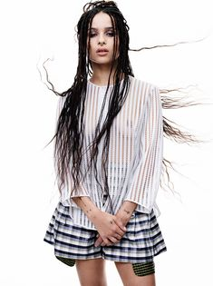 Say What?!: Zoe Kravitz's signature box braids started out as a joke?? See what the gorgeous, free-spirited actress and musician told C Magazine in their cover story and check the gorgeous images for the issue on the site!