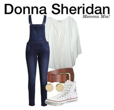 Donna Sheridan - Mamma Mia! by nerd-ville on Polyvore featuring polyvore fashion style Cheap Monday Converse Magdalena Frackowiak Will Leather Goods clothing