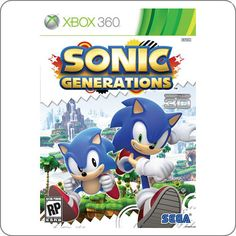 Xbox 360 Sonic Generations R$109.90