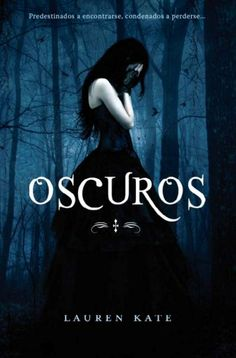 Portada española del primer libro de la Saga Fallen de Lauren Kate