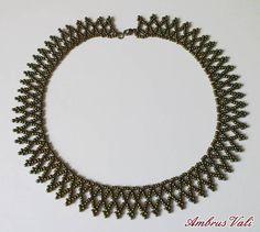 A M B R U S V A L I - 8. Népi, Népies nyakláncok - Iris bronz nyaklánc