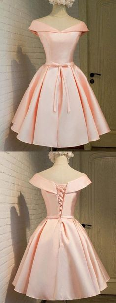 Uhc0023, 2017 lace up homecoming dresses,blush homecoming dresses,elegant homecoming dresses,Satin homecoming dresses,cheap pink homecoming dresses