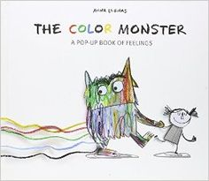 The Color Monster: A Pop-Up Book of Feelings: Anna Llenas: 9781454917298: Amazon.com: Books