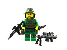 Special Forces Jungle Sniper Minifigure