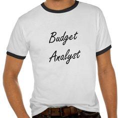 Budget Analyst Artistic Job Design Tee T Shirt, Hoodie Sweatshirt