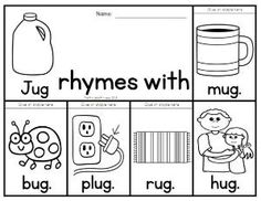 40 rhyming flip books to teach 40 different rhyming families. by mildred.king.7