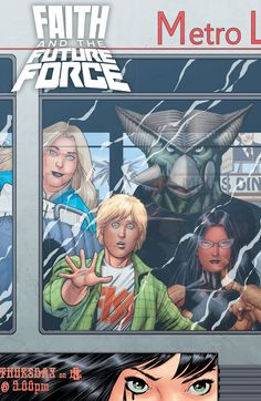 FAITH AND THE FUTURE FORCE #4 CVR A KITSON