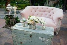 el sofa amarillo muebles en el jardín (11)