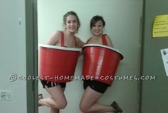 Sexy Red Solo Cups College Costume ... This website is the Pinterest of costumes