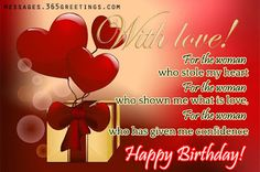 Are you searching for Romantic Birthday Images for Boyfriend? You can impress your lover using these cute birthday images. Happy Birthday Love Images, Happy Birthday Quotes For Her, Birthday Wishes For Lover, Romantic Birthday Wishes, Birthday Wishes For Girlfriend, Birthday Wishes And Images, Birthday Wishes Quotes, Birthday Messages, Birthday Images