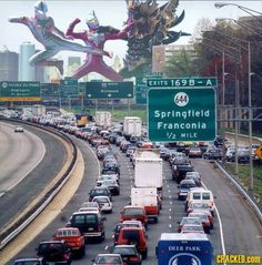DC traffic is out of control.