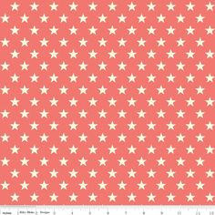 Trendsetter Stars Mint PER METRE Retro Kids Green 1m Riley Blake Fabric