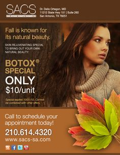 Botox special for October