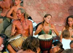 Benirrás Sunday Sunset Ritual in the island of Ibiza