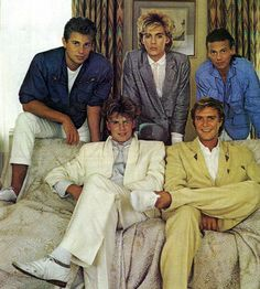 Duran Duran back in the day!