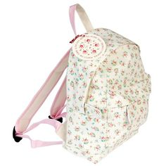 La Petite Rose Mini Backpack from Rex London - the new name for dotcomgiftshop. Great value gifts and homeware in original designs. Free UK delivery available. Toddler Backpack, Mini Backpack, Drawstring Backpack, Teen Girl Fashion, Kids Fashion, Nylons, Kids Backpacks, New Bag, Rose Design