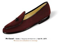 Belgian Shoes   Mr. Casual   Suedes