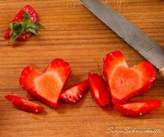 Erdbeer-Herzen