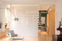 divisoria cama-closet - persiana/painel