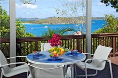Just a short walk from some of St. John's most beautiful beaches, Terrahawk is a villa that stands out from the rest. Only a handful of homes on the island are walking distance to the North Shore's white sands, a fact you'll definitely be taking advantage of during your stay. Cozy and comfortable, this charming two-bedroom island home is the perfect choice for guests who want to experience St. John's purest pleasures.  From Terrahawk's decks you can enjoy the stillness and stunning beauty of…
