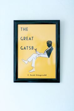 Great Gatsby print by Aled Lewis
