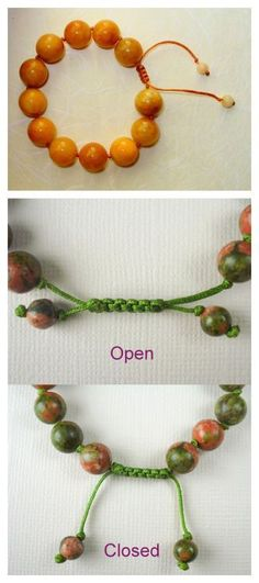 DIY Sliding Chinese Flat Knot Closure Tutorial from RJ Design...