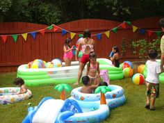 Pool Party Birthday Party Ideas | Photo 5 of 34