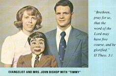 Creepy photos of ventriloquists' dummies show the scary side of the vintage shows Bad Family Photos, Awkward Family Photos, John Bishop, Ventriloquist Dummy, Worst Album Covers, Book Covers, Believe, Creepy Vintage, Vintage Ads