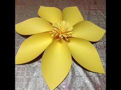 Flor Gigante 2 Large flower - YouTube