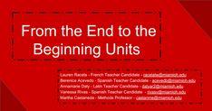 French Teacher, Spanish Teacher, University Of Miami, Professor, Conference, Presentation, The Unit, Teaching, Teacher