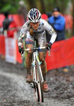 womenscycling: #kfc  Katie Compton, Cyclo-cross World Cup 2013, Namur via Cyclo-cross World Cup, Namur 2013 | Photos | Cycling Weekly Cycling Weekly's Namur Gallery