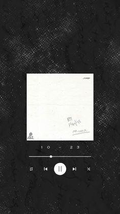Cr: BTSBangtanLocks 『  RM's Playlist       #mono Lockscreens   』 Music Wallpaper, Cute Wallpaper Backgrounds, Tumblr Wallpaper, Wallpaper Quotes, Cute Wallpapers, Aesthetic Pastel Wallpaper, Aesthetic Wallpapers, Instagram Frame Template, Overlays Tumblr