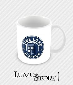 Caneca Doctor Who Coffee