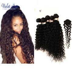 Brazilian Kinky Curly Virgin Hair  Looks good on every woman!