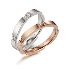 영원한 사랑의 약속을 형상화한 약속 모티브가 모든 아이템에 섬세하게 표현된 디자인입니다.