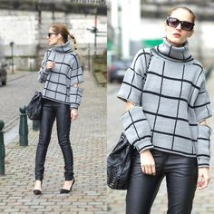 Get this look: http://lb.nu/look/8102844  More looks by Ruxandra Ioana: http://lb.nu/user/1879281-Ruxandra-I  Items in this look:  Choies Sweater   #casual #chic #street #hype #cute #blogger #fashion #fashionable #style