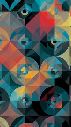 Mosaic 7 iPhone 5 Wallpaper