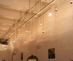 exposed conduit lighting - Google Search