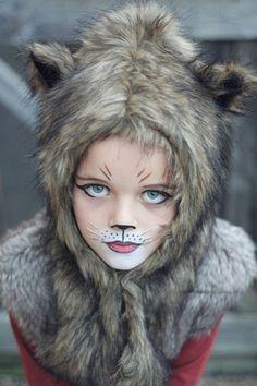déguisement Halloween fille loup