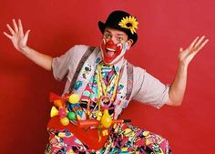 What's a wedding without a clown?