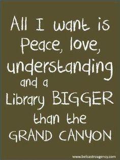 Especially the library