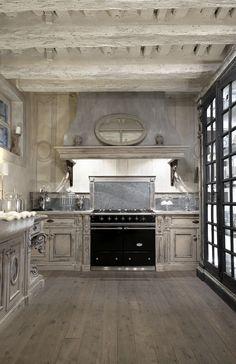 cucina in una villa italiana