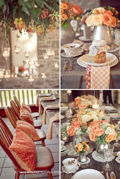 Made with Love - Tablescape Details at Vineland Estates Winery- Bridal Shower