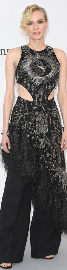 Diane Kruger in Alexander McQueen - Amfar Gala Cannes 2017