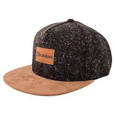 Homeland Tees Mens Nebraska Leather Patch Cotton Twill Hat