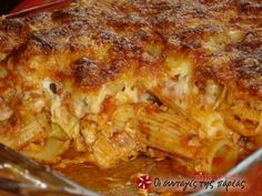 olgas, Author at Olga's cuisine - Page 46 of 81 Casserole Recipes, Pasta Recipes, Chicken Recipes, Cookbook Recipes, Cooking Recipes, Best Greek Food, Baked Pasta Dishes, Cyprus Food, Noodles
