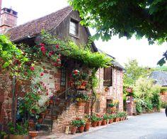 Collonges la Rouge, Corrèze, Limousin, Central France ✯ ωнιмѕу ѕαη∂у