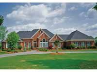 Floor Plans AFLFPW20285 - 1 Story New American Home with 4 Bedrooms, 4 Bathrooms and 4,523 total Square Feet