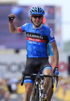 Victory for Daniel Martin (Garmin-Sharp) in stage 9 of the Tour de France